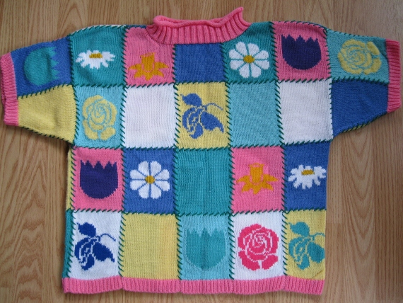 Flower -heme-Sweater