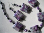 Purple-and-Black-Artsy-Design-Necklace-and-Earring-Set