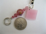 Pink-Drilled-Mosaic-Tile-with-Silver-Heart-Charm