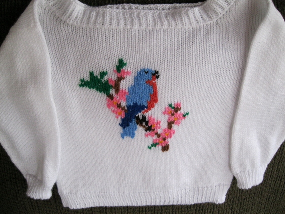 Bluebird-Sweater