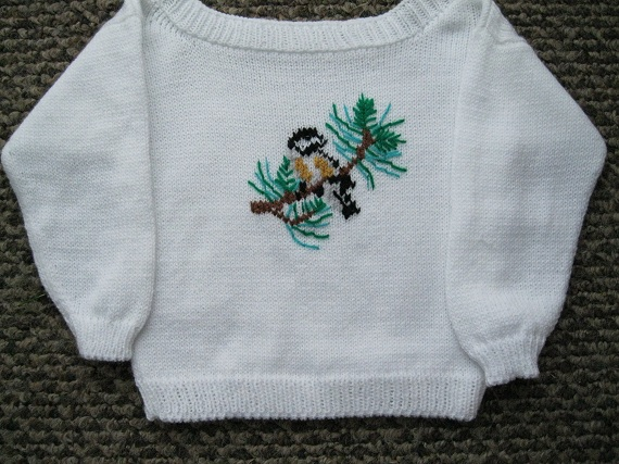 Chickadee-Sweater