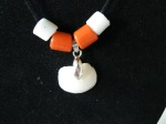 Lucky-Stone-with-Orange-and-White-Glass-Beads