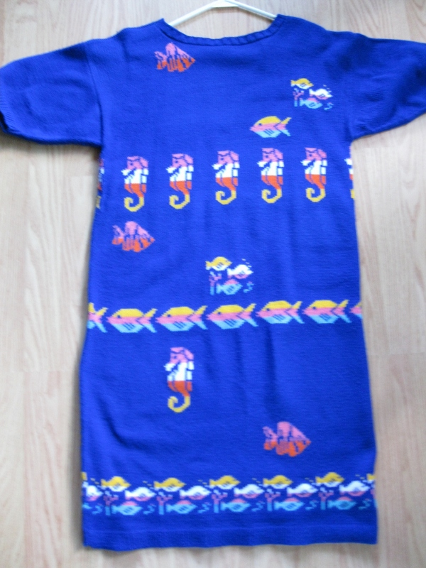 Multi-Colored-Fish-Dress