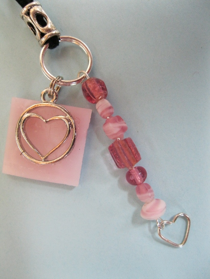 Pink-Mosaic-with-Heart-Charms