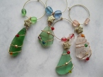 Beach-Glass-Christmas-Wine-Glass-Charms