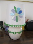 Beach-Glass-Flower-Lamp