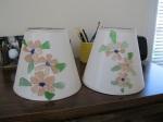 Beach Glass-Flower-Lampshades