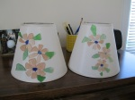 Beach Glass-Flower-Lampshades