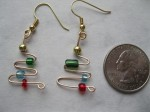 Christmas-Tree-Beaded-Earrings
