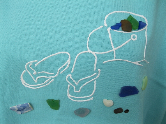 Sandals-and-Sea-Glass