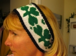 Shamrock-Headband-Navy-Green-White
