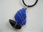 Cobalt-Blue-Beach-Glass-Sailboat-Necklace
