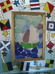 Nautical-Framed-Beach-Glass-Sailboat