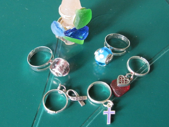 Beach-Glass-Rings
