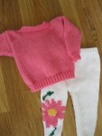 Hot-Pink-Baby-Sweater-and-Flower-Leggins