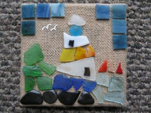 BURLAP AND BEACH GLASS (9)