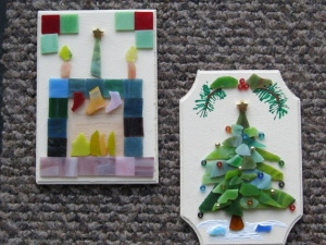 CHRISTMAS MOSAIC SCENES
