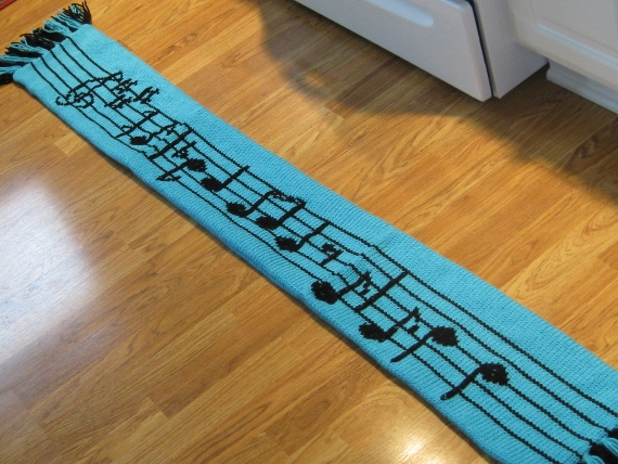 Musical-Scarf