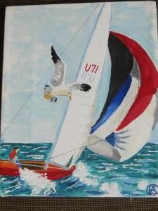 Sailing Painting 006