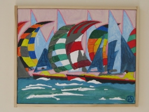 Spinnakers painting (1)