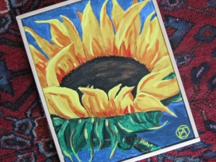 SUNFLOWER PAINTING 003 (570x428)