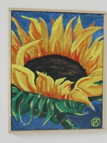 SUNFLOWER PAINTING 005 (428x570)