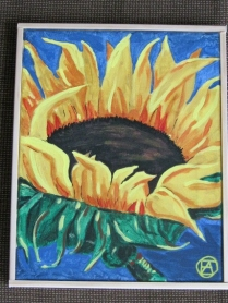 SUNFLOWER PAINTING 006 (428x570)