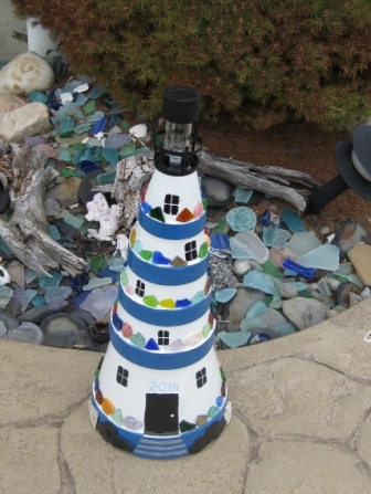 BEACH GLASS LIGHTHOUSE (1)