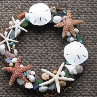 BY THE SEA WREATH
