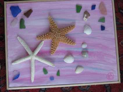 STARFISH ON PINK