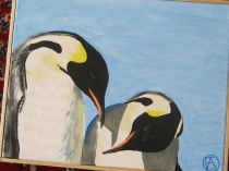 Seagull penguins and clay pot lighthouse 009 (570x428)