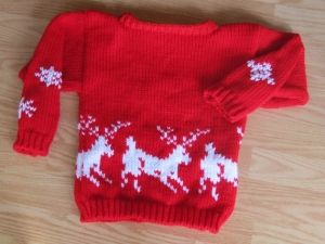 deer and snowflakes sweater (3)