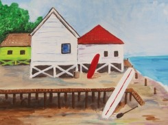 BY THE SEA PAINTING 004 (428x570)