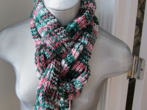 KNOTTED SCARF (3)