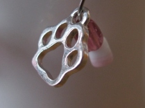 Paw prints earrings (6)