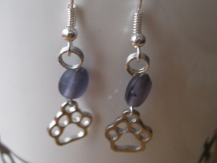 Paw prints earrings (9)