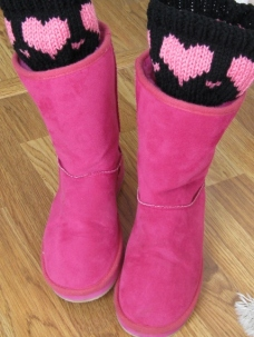 HEART BOOT CUFFS