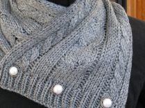 CABLED SCARF (6)