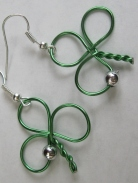 SHAMROCK EARRINGS (2)