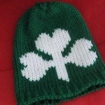 Shamrock Infant Hats and Headbands (1)