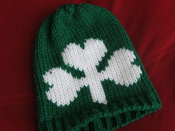 Shamrock Infant Hats and Headbands (16)