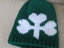 Shamrock Infant Hats and Headbands (2)