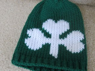 Shamrock Infant Hats and Headbands (2)