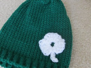 Shamrock Infant Hats and Headbands (7)