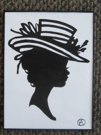 FANCY LADIES SILHOUETTE (11)