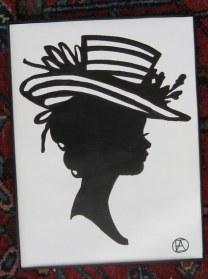 FANCY LADY SILHOUETTE 2