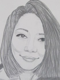 Junko Pencil Portrait (1)