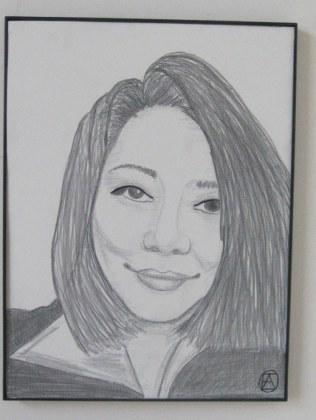 Junko Pencil Portrait (2)