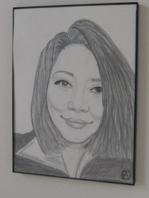 Junko Pencil Portrait (4)