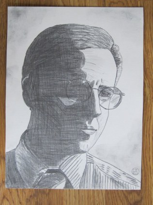 Mike Tuggle Pencil Sketch (2)